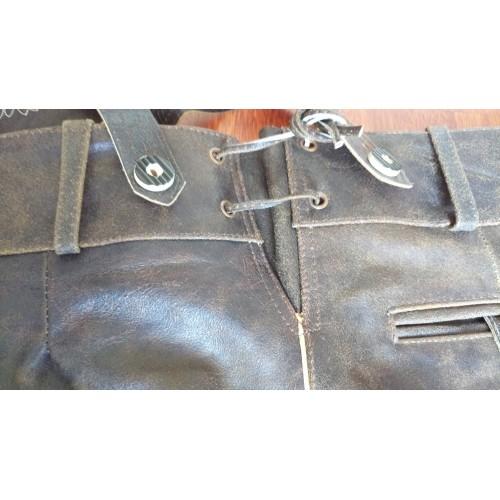 Short Bavarois cuir