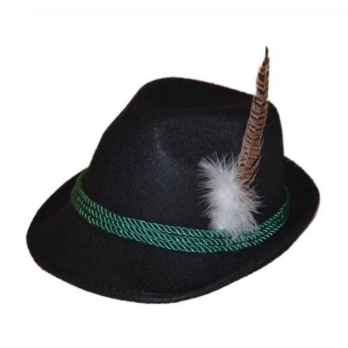 Bayerischer Hut schwarz