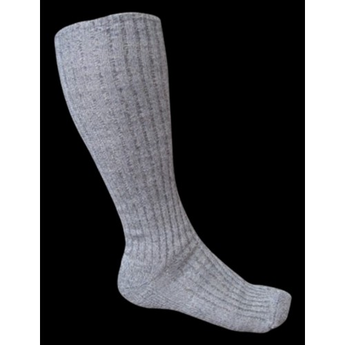 Socken mit hohem Grauen